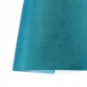 Ecopiel mate azul turquesa - Kora Projects