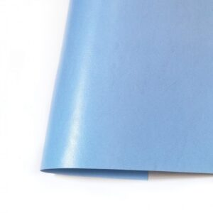 Ecopiel satinada azul cielo - Kora Projects