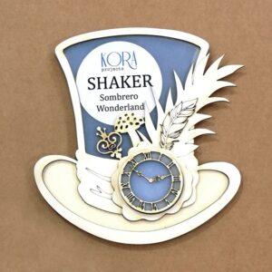 Shaker sombrero Wonderland de Kora Projects