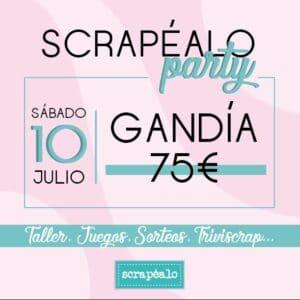 Scrapéalo Party Gandía 2021