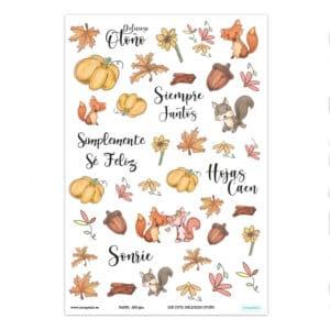 Die Cuts colección «Delicioso otoño» de Scrapéalo