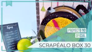 Álbum tapas - Proyecto no oficial Scrapéalo Box 30