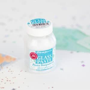 Glass Paste transparente efecto hielo