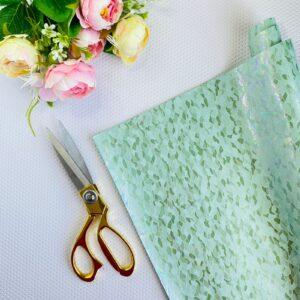 Ante mármol color verde menta de 32x50 cms. de Pandora Scrap