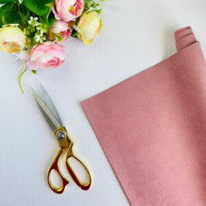 Ante básico de 32x50 cms. color rosa antiguo de Pandora Scrap