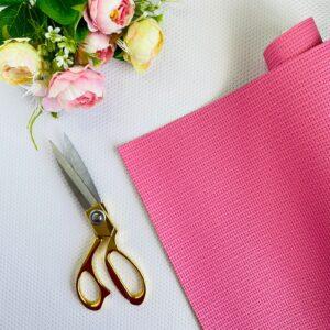 Polipiel cestería de 32x50 cms. color rosa pop de Pandora Scrap