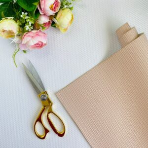 Polipiel cestería de 32x50 cms. color rosa de Pandora Scrap
