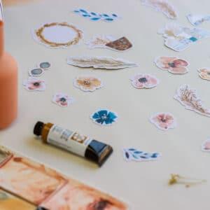 Set de Die Cuts para scrap de la colección «Jasmine» de Gigi's Lab