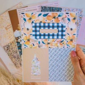 «Jasmine» kit de frases y tarjetas para scrap de Gigi's Lab.