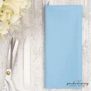 Polipiel básica de 32x50 cms. en color azul bebé de Pandora Scrap