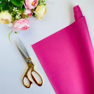 Polipiel básica de 32x50 cms. en color rosa de Pandora Scrap