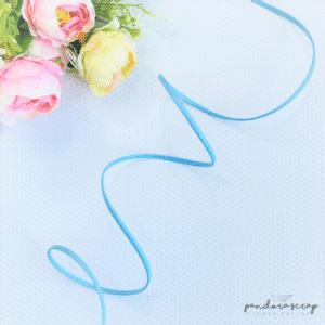 Correa de polipiel Helio azul de Pandora Scrap