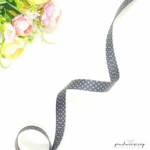 Correa de polipiel negro foil de 20 mm. de Pandora Scrap