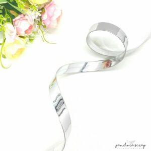 Correa de polipiel plata espejo 20 mm. de Pandora Scrap