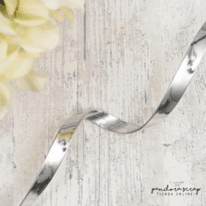 Correa de polipiel espejo plata de Pandora Scrap
